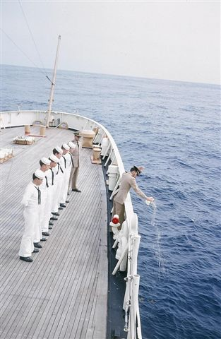 STOUT BURIAL AT SEA 1966